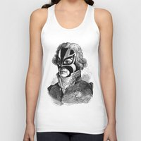 wrestling Tank Tops featuring WRESTLING MASK 11 by DIVIDUS