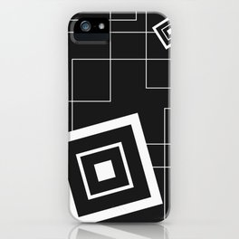 """""""From Big to Small"""" abstract composition (inversion) iPhone Case"""