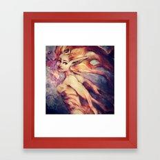 Galaxy Seer Framed Art Print