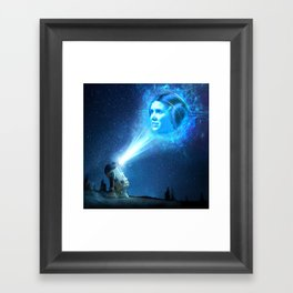 Our Lady of Stars Framed Art Print