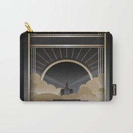 Art deco design V Carry-All Pouch