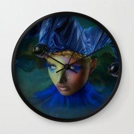 Jester's Tear Wall Clock