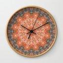 Energy Light | Orange & Teal geometry by webgrrl