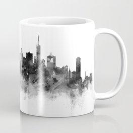 San Francisco Black and White Coffee Mug