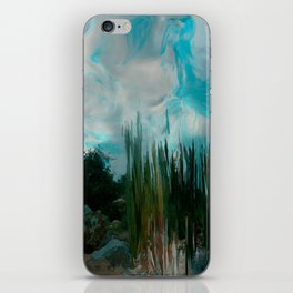 In The Cool Of The Evening In The Desert iPhone Skin