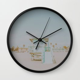 no lifeguard iii Wall Clock