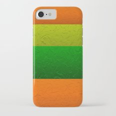 Orange Lime and Green Passion iPhone 7 Slim Case