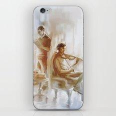 [ 221B ] Baker Street - sherlock holmes & john watson iPhone & iPod Skin