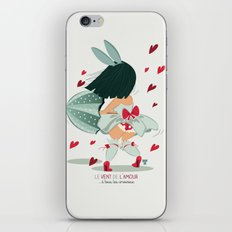 LE VENT DE L'AMOUR iPhone & iPod Skin