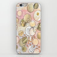 fancy iPhone & iPod Skins featuring fanCy by Kras Arts - Fly Me To The Moon