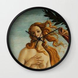"Sandro Botticelli ""The Birth of Venus"" 2. Wall Clock"