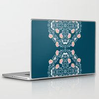 folk Laptop & iPad Skins featuring Folk by katharine stackhouse