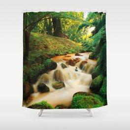 Parque Terra Nostra Shower Curtain