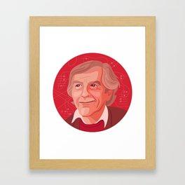 Queer Portrait - John Cage Framed Art Print