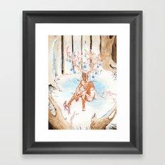 On the Nature of Spirits: Fauna Framed Art Print