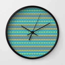 stripes1 Wall Clock