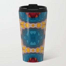 New Color Pyramidal Mandala 73 - Pattern 2 Travel Mug