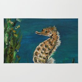 The Spectacular Seahorse Rug