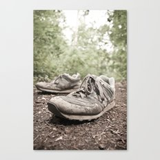 shoes for a decade, not for a year Canvas Print