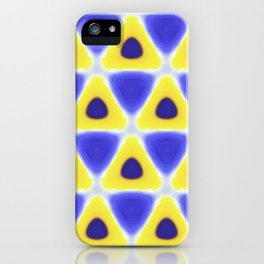 A sea of Triangles iPhone Case
