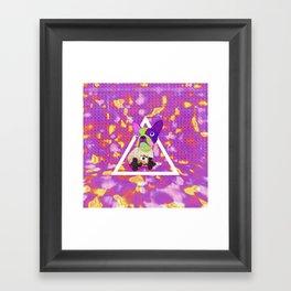 New Color Framed Art Print