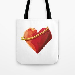 Thorny Heart Tote Bag