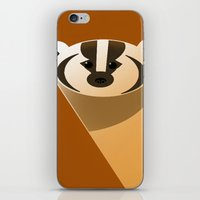 badger iPhone & iPod Skins featuring badger by Thomas