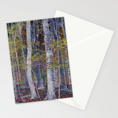 You Hiked while I Stood Still Stationery Cards
