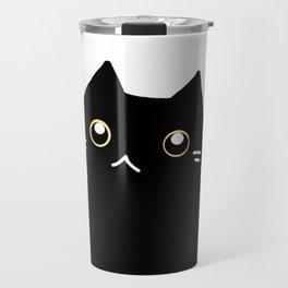Black cat 589 Travel Mug