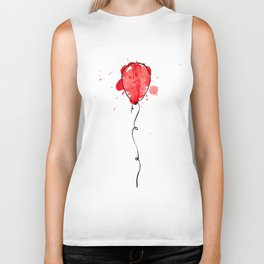 Red Balloon Biker Tank