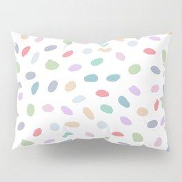 Color Oval Dots Pillow Sham