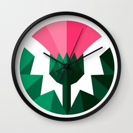Thistle 3D Wall Clock