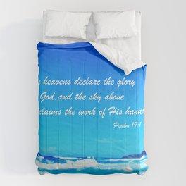 Psalm 19 Comforters