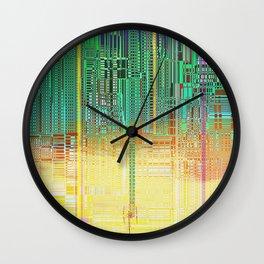 Atlante / CITIES over CITIES Wall Clock