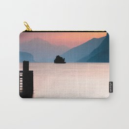Lake Walen Sunset Carry-All Pouch