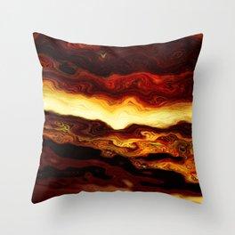 Molten Throw Pillow