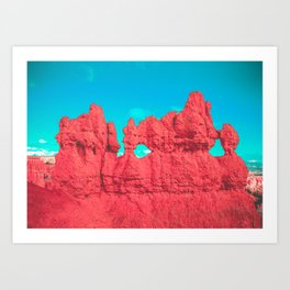 Hoodoo's Voodoo In the Best Possible Way (Bryce Canyon) Art Print