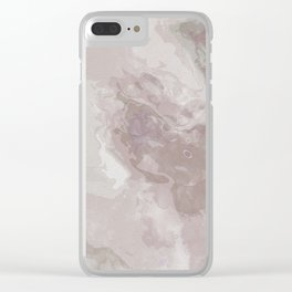 Shades of Pink Clear iPhone Case