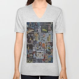 THE WORLD OF FURS PERFUME AND ISLANDS Unisex V-Neck