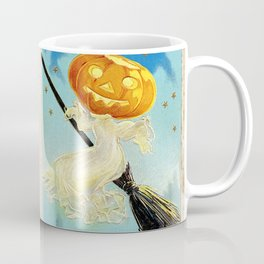 Happy Halloween Pumpkin Witch Coffee Mug