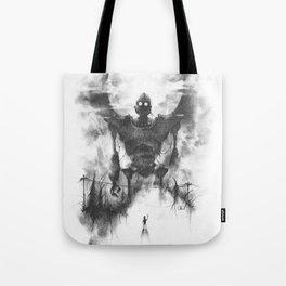 The Iron Intruder Tote Bag