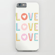 Love x3 iPhone 6s Slim Case