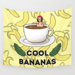 cool bananas Wall Tapestry