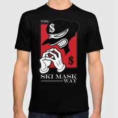 The Ski Mask Way Black X-LARGE Mens Fitted Tee
