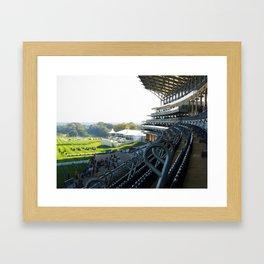 Royal Ascot Grandstand Framed Art Print