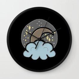 Midnight Daydream Wall Clock