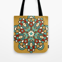 Bicentenary of The Báb - Water and Fire Tote Bag