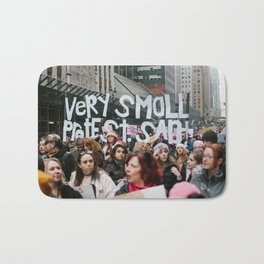 A Very Small Protest. Bath Mat