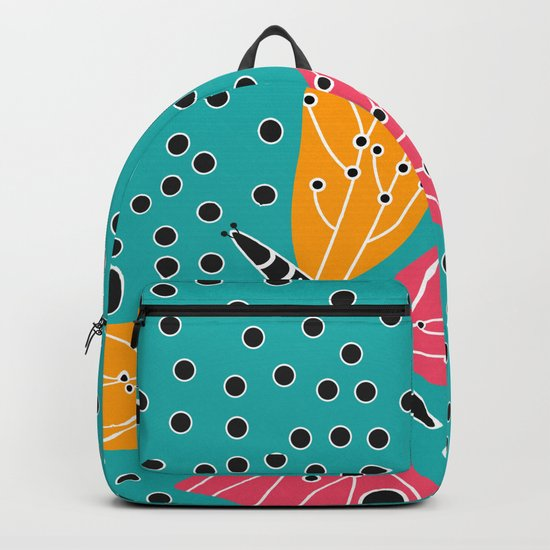 Butterfly with dots Backpack