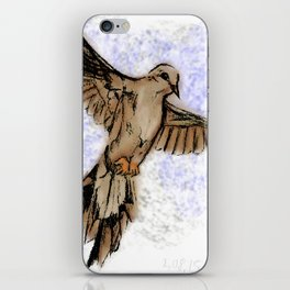 Morning dove iPhone Skin